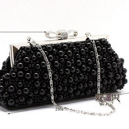 women's Beaded Evening Bag Imitatio..