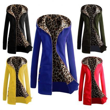 Fashion Women's Winter Warm Hooded Parka Coat Long Jacket Overcoat Outwear